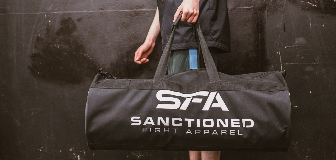 Sanctioned Fight Apparel Duffle Bag